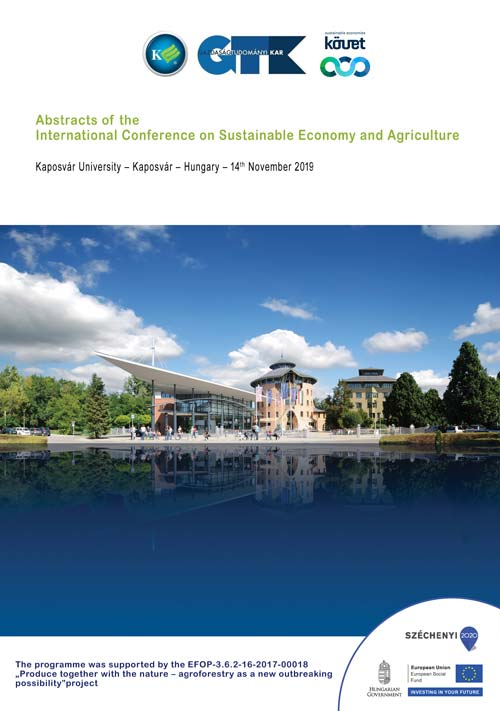 Abstracts of the International Conference on Sustainable Economy and Agriculture