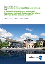 The Proceedings of the 5th International Conference of Economic Sciences (2015) and 5th Climate Change, Economic Development, Environment and People Conference of the Alliance of Central-Eastern European Universities